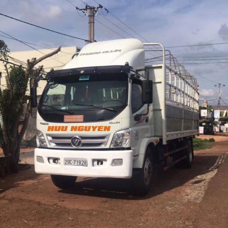 Cho thuê xe tải 8 tấn giá rẻ tại TPHCM.