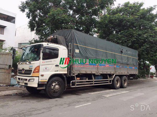 Chành xe đi Bình Định từ TPHCM với xe 15 tấn.