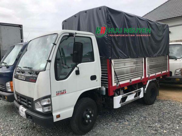 Chành xe đi Bình Định từ TPHCM với xe 2 tấn.