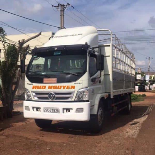 Chành xe đi Bình Định từ TPHCM với xe 8 tấn.