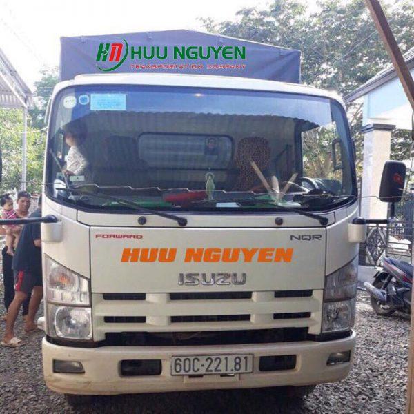Chành xe đi Đà Nẵng từ TPHCM giá rẻ với xe 5 tấn.
